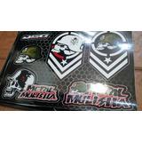 Calcos Metal Mulisha Rockstar Monster Motocross Ken Block