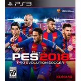 Pro Evolution Soccer 2018 Pes 2018 - Playstation 3   Vgm