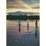 Gis-5320 - Postal Goias - Pequenos Indios Xavantes Pescando