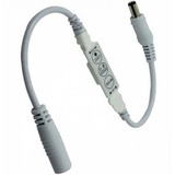 06 Mini Controle Dimmer 12v Strobo Flash E 1 Fita Rgb