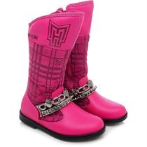 Botas Femininas Infantil Monster High, Á Pronta Entrega