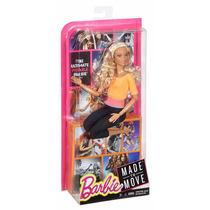 Boneca Barbie Made To Move Cabelo Enrolado Feita Para Mexer