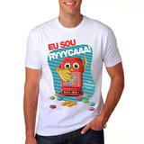 Camiseta Camisa Masculina Selo Carolina Ferraz Eu Sou Ricaaa cf70d73bba8