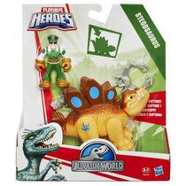 Boneco Playskool Jurassic World Dinossauro - Estegossauro