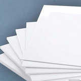 Laminas Blancas De Pvc 56x45 Cm