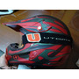 Casco De Motocross No Fear-optimal Ii, Comprado En Usa