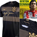 Camisa Corinthians Ayrton Senna Original Lançamento Eterno 33c4c1534de1a