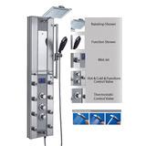 Panel De Ducha Termostática De Aluminio Akdy De 51 Co...