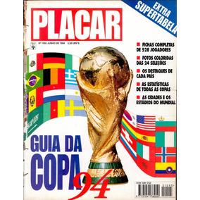 Revista Placar Digitalizada Guia Da Copa Do Mundo 1994