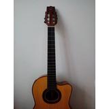Guitarra Hecha A Mano Con Materiales Importados