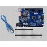 Arduino Uno R3 Smd +cable Usb No Necesita Drivers Ni Cd