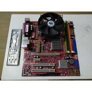 Kit Placa-mãe Positivo Ms7267 Dual-core 2,70ghz 1gb Ram Ddr2