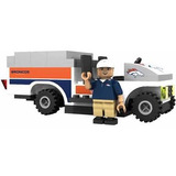 Denver Broncos Trainer Cart Lego Oyo