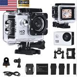 Action Camara Video Full Hd Camcorder1080p 60fps 16mp