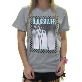 f95de32e56571 Blusa Quiksilver - Camisetas e Blusas Manga Curta para Feminino no ...