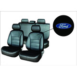 Capa Banco Automotivo Couro Ford New Fiesta 2014 Se 1.5 16v