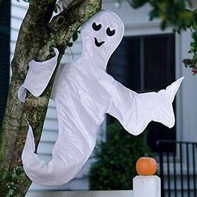 Ojeada Una Decoración Del Abrigo Del Árbol De Halloween Del
