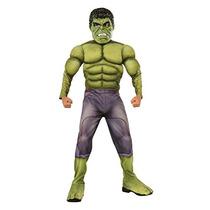Traje Vengadores De Rubie 2 Edad De Deluxe Hulk W15