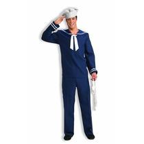 Disfraz Hombre Traje De Marinero Ahoy Afable Foro Novedades