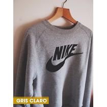 Sweater Nike Sueter Sin Capucha Para Dama Y Caballero Algodo