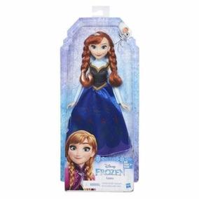 Boneca Hasbro Frozen Clássica Anna Altura 35 Cm