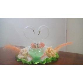 Centros De Mesa Para Casamiento Cisnes Vidrio Soplado