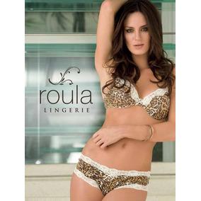 Conj Tasa Soft Animal Print Y Culotte Roula E044 Wariel