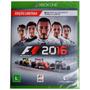 Jogo F1 2016 Para Xbox One Midia Fisica Nova Lacrada