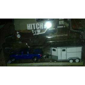 Greenligth Chevrolet Silverado 1 Con Caballerisa Lyly Toys