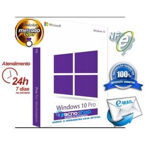 Windows 10 Pro Chave Licença Key Oficial Nota Fiscal Nfe