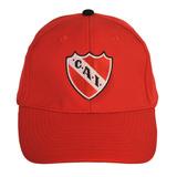 Gorra Con Escudo Bordado Club Atlético Independiente