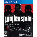 Juego Ps4 Wolfenstein