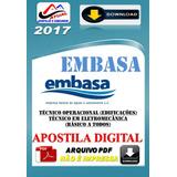 Apostila Digital Embasa Tecnico Operacional Edificacoes 2017