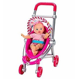 Bebita Con Carriola Little Mommy X1199
