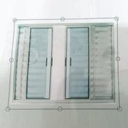 Tela Mosquiteiro Para Janelas 0,80 X 1,00 M Velcro Lavável