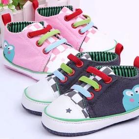 Sapato Bebê Sapatinho Tênis Importado Menino Menina Sapinho