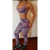 Conjuntos Deportivos En Licra Colombiana Ideales Para El Gym