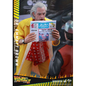 Doc Brown Exclusive Hot Toys (marty Batman Spider Iron Flash