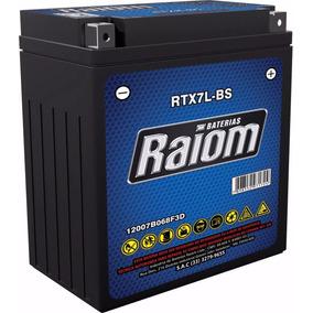 Bateria Moto Raiom Rtx7l-bs Twister - Falcon - Lander