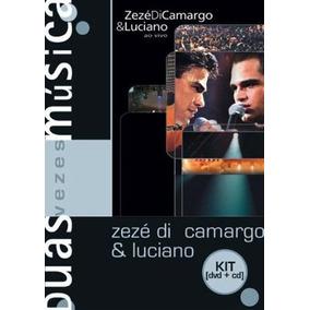 Kit Dvd + Cd Zezé Di Camargo & Luciano Ao Vivo Lacrado Raro