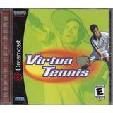 Virtua Tennis (sega Dreamcast, 2000) Nuevo Sellado