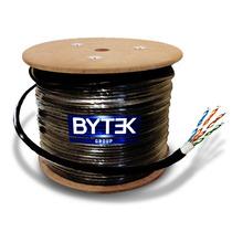 Bobina De Cable Para Red Utp Rj45 305m Cat6 Gris 0.60mm,