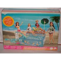 Barbie Piscina.california Girl. Mattel