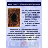 Paquete Para Principiantes Yugioh - 100 Cartas Envio Gratis