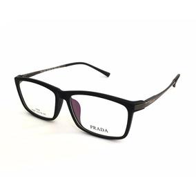 Armação Óculos De Grau P 007 Acetato Titanium