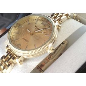 Reloj Color Oro Para Mujer Marca Xoxo, Elegante