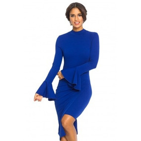 Vestido Azul Rey Tipo Coctel - Vestidos de Mujer en Mercado Libre México d34ee47a1f70
