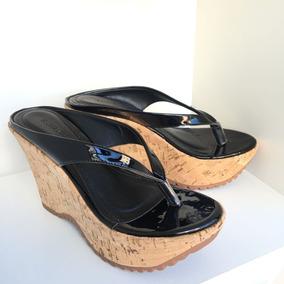 7bbf6aa55 Tamanco Anabela Raphaella Booz - Sapatos Preto no Mercado Livre Brasil