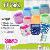 10 Pack Ecopipo (pañales Ecológicos) Meses Sin Intereses