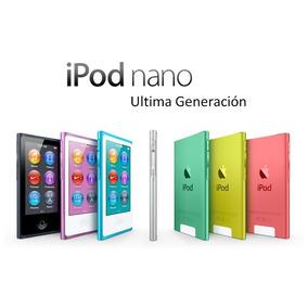 Ipod Nano 7ma Generación 16gb Todos Los Colores
